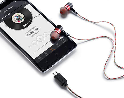 Z:ero - World First Digital earphone
